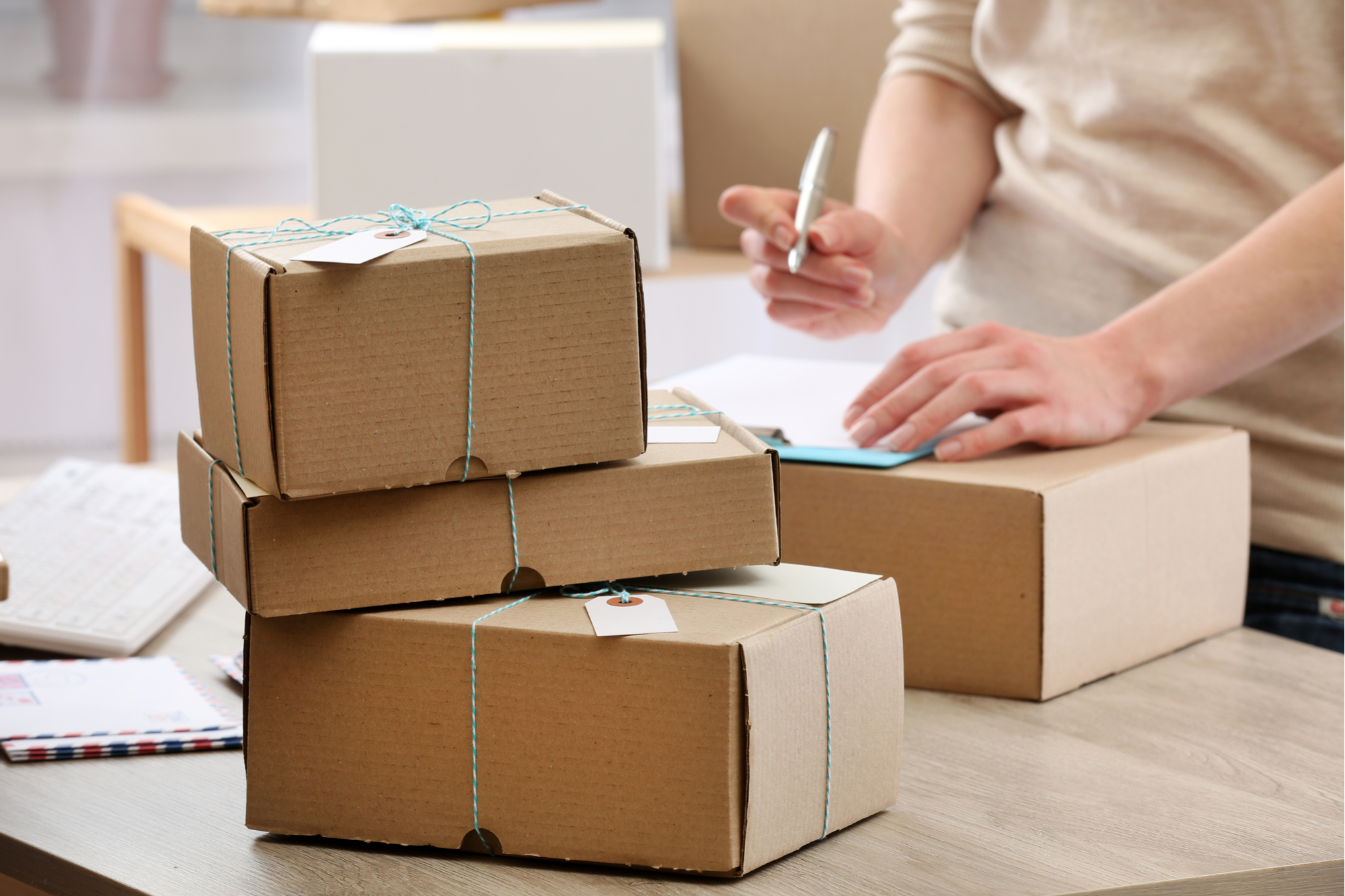 Getting Ready to Ship Some Packages as Gifts